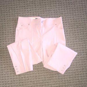 Adorable light pink dress pants